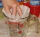 Фото: Для очистки используем фильтр для кофе.
