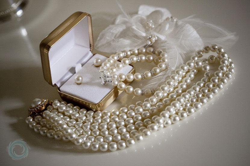 Фото: Ожерелье из жемчуга.