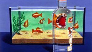 Фото: рекламный плакат водки SMIRNOFF