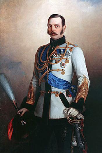 Фото: Император Александр II, отменивший «винные откупа».
