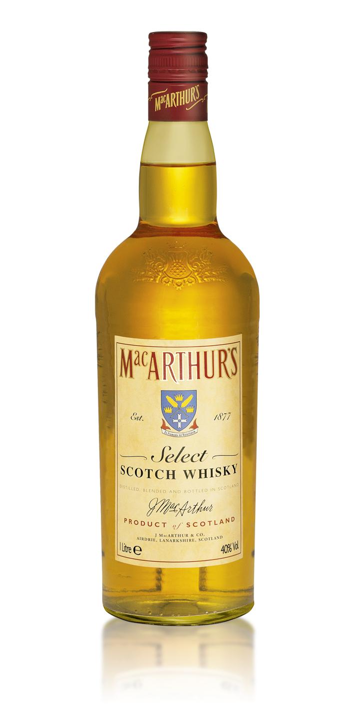 Фото: Бутылка шотландского виски «MacArthur`s».