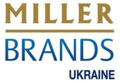 Фото: Логотип «Miller Brands Ukraine» (ЧАО «Миллер Брендз Украина»)