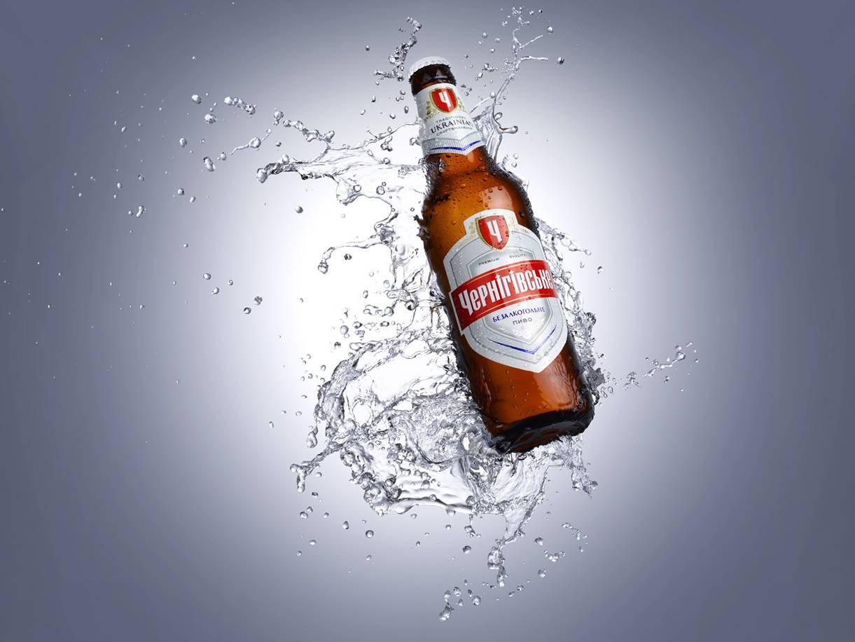 Фото: обновленное пиво `Чернігівське Безалкогольне`