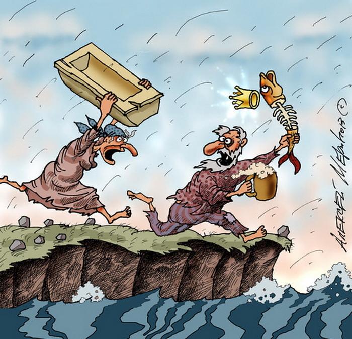Фото: Карикатура Алексея Меринова из цикла «Неправильные сказки».