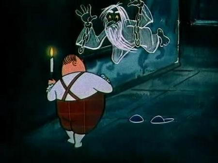 Фото: Кадр из мультфильма «Кентервильское привидение».