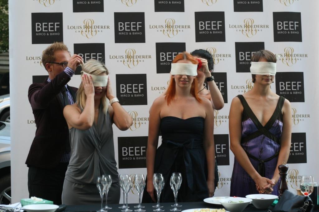 Фото: слепое тестирование шампанского