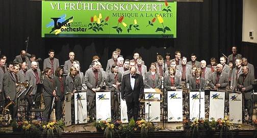 Фото: Blasorchester Schott Jena