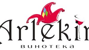 Фото: Логотип винотеки «Арлекин».