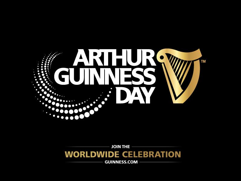 Фото: Guinness в честь Дня Артура Гиннесса (Arthur Guinness Day)