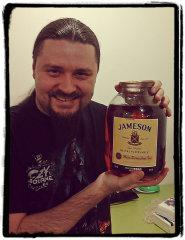Фото: Вадим и 3 литра виски «Jameson».