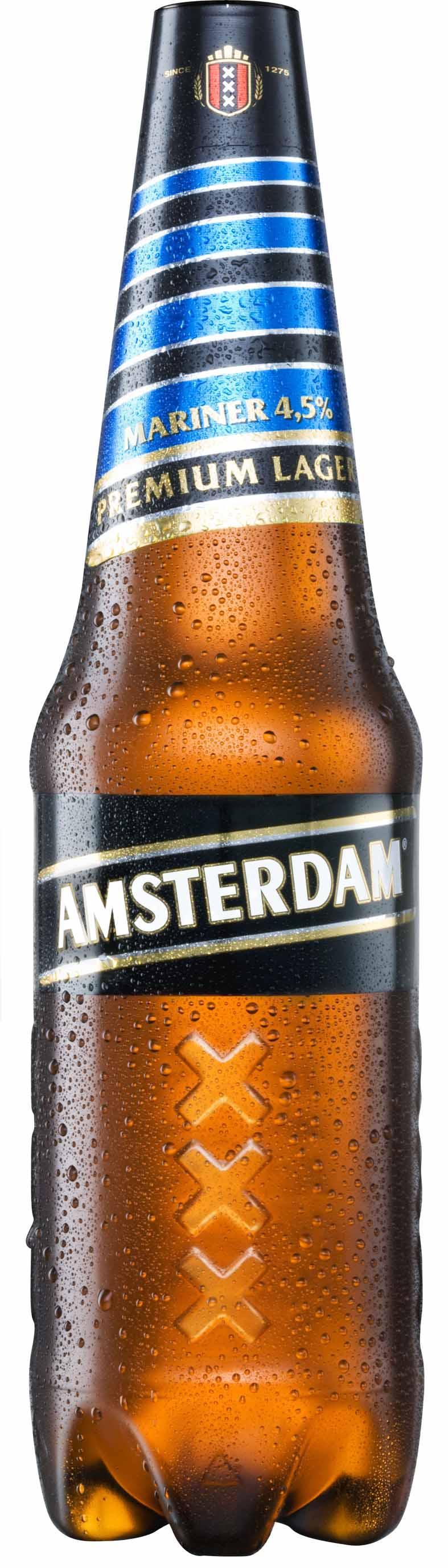 Фото: «Миллер Брендз Украина» начинает выпуск пива «Амстердам Маринер»(«Amsterdam Mariner») в новой упаковке.
