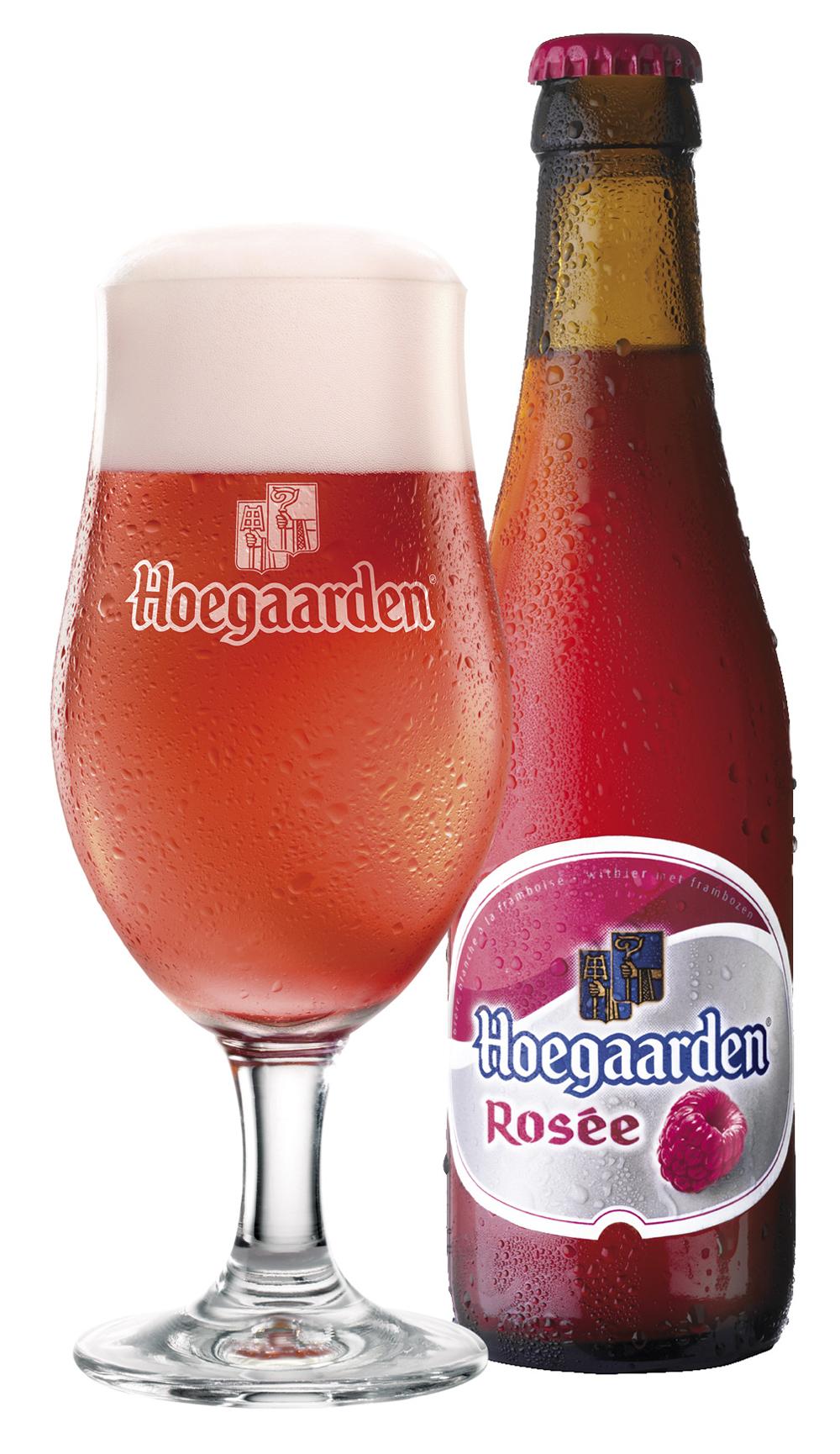 Фото: пиво «Hoegaarden Rosee» («Хугарден Розе»)