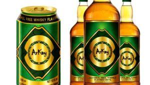 Фото: Вода с ароматом виски от «ArKay» («Халяль виски»).