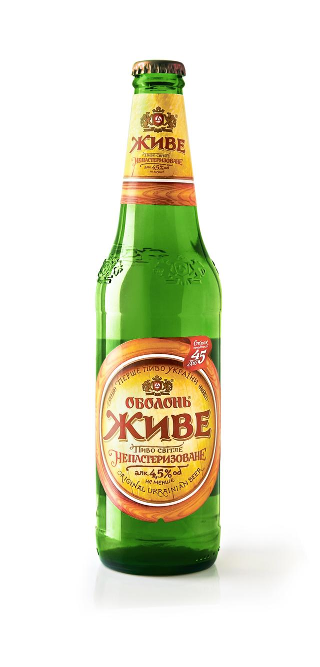Фото: Компания «POLARIS» провела рестайлинг пива «Живое» для ЗАО «Оболонь».
