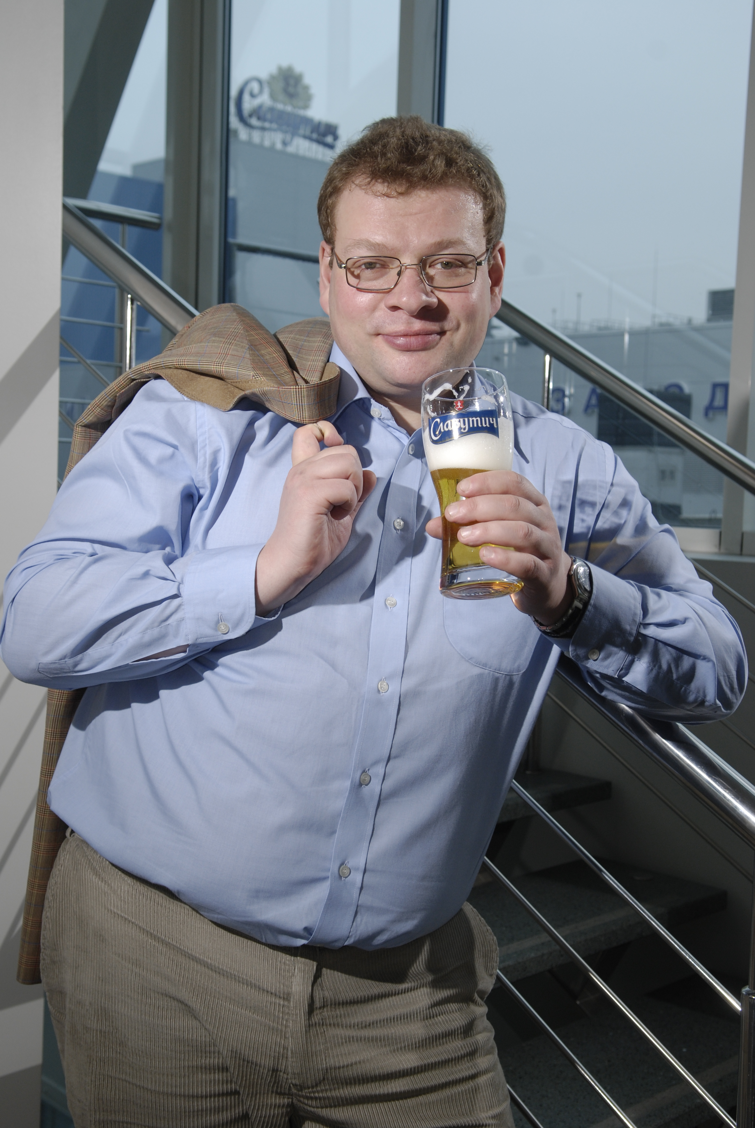 Фото: Перт Чернышов, генеральный директор «Carlsberg Ukraine» в совете «Американской торговой палаты».