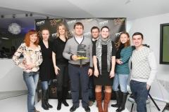 Фото: «X-Ray Marketing Awards» наградил маркетинг-команду «Чернігівського».