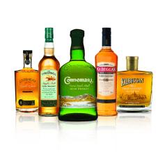 Фото: Новая коллекция виски «Cooley Distillery».