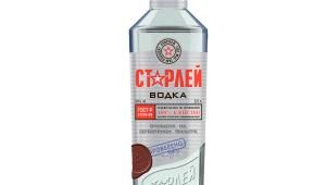 Фото: Новый дизайн бутылки водки «Старлей».