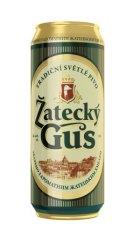 Фото: Новая банка для пива «Zatecky Gus».