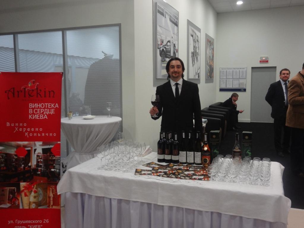 Фото: Винотека «Арлекин» стала партнером открытия Первого города Автомобилей — «Види Авто Сити».