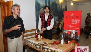 Фото: Винотека «Арлекин» выступила партнером в организации выставки «Українська формула/Колір».