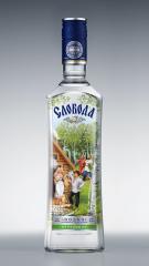 Фото: Обновленная бутылка водки «Слобода берёзовая».