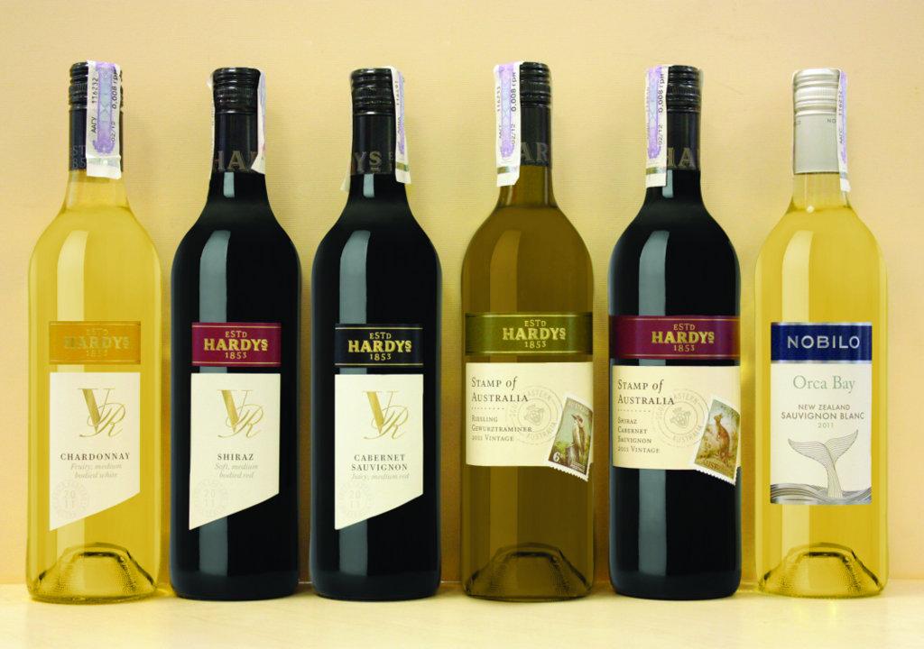 Фото: В 2012 году на рынок Украины запланирован выпуск пяти наименований линейки торговой марки «Hardys».