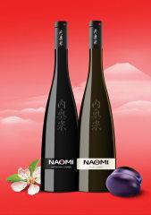 Фото: Японское сливовое вино торговой марки «NAOMI».
