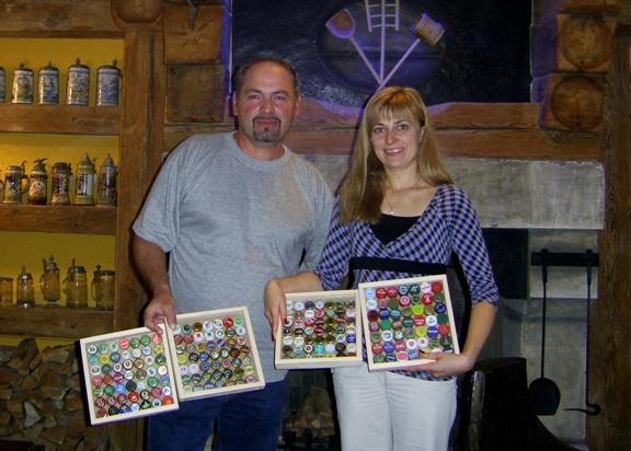 Фото: «Музей пивоварения» во Львове получил подарок от ценителя пивной культуры.