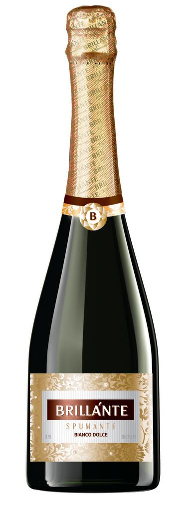 Фото: Новинка российского рынка игристых вин — вино «Brillante».