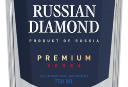 Фото: «Russian Diamond Premium» получила золотую медаль на конкурсе «International Review of Spirits Competition».