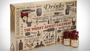 Фото: «The Whisky Advent Calendar» — Рождественский календарь из виски.
