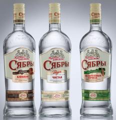 Фото: В «Allberry» создано оформление белорусской водки «Сябры».
