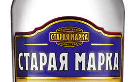 Фото: Бутылка водки «Старая Марка Классическая».