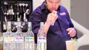 Фото: Пекка Пеллинен представил в Украине новую водку от «Finlandia Vodka» — «Finlandia Blackcurrant» (черная смородина).