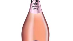 Фото: Итальянское игристое вино «Martini Rosé».