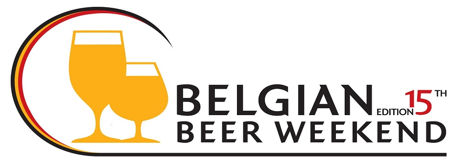 Фото: Логотип 15 бельгийского фестиваля пива («Belgian Beer Weekend»).