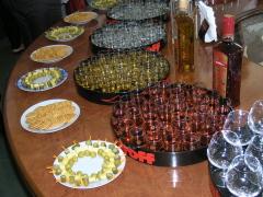 Фото: Дегустация водки на заводе «Nemiroff».