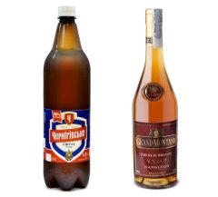 Фото: Скидка на пиво «Черниговское Светлое» и коньяк «Grand Montand V.S.O.P.».