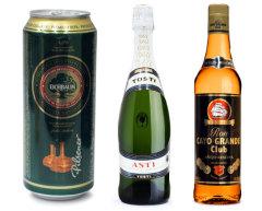 Фото: «Сільпо» — скидка на пиво «Eichbaum Premium Pilsener», шампанское «Tosti Asti» и ром «Cayo Grande Аnеjо».