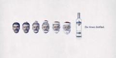 Фото: «Amundsen Vodka» — отмоем даже Сталина.