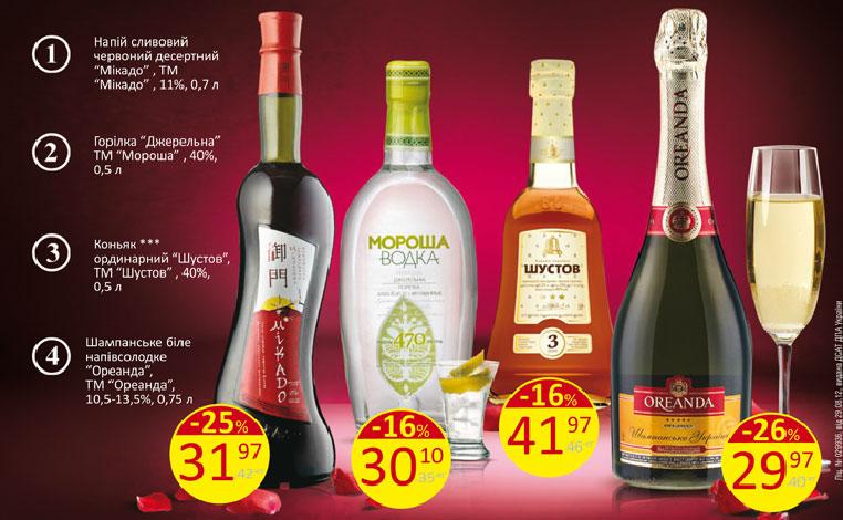 Фото: «Велика Кишеня» — скидки на алкоголь (февраль 2014).