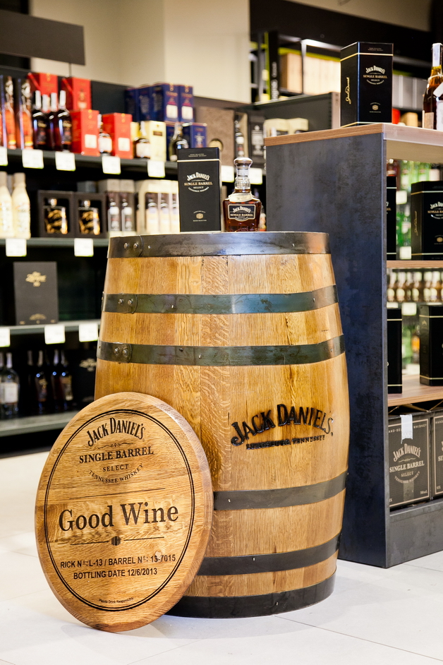Фото: В Украину приехала первая бочка виски «Jack Daniels».