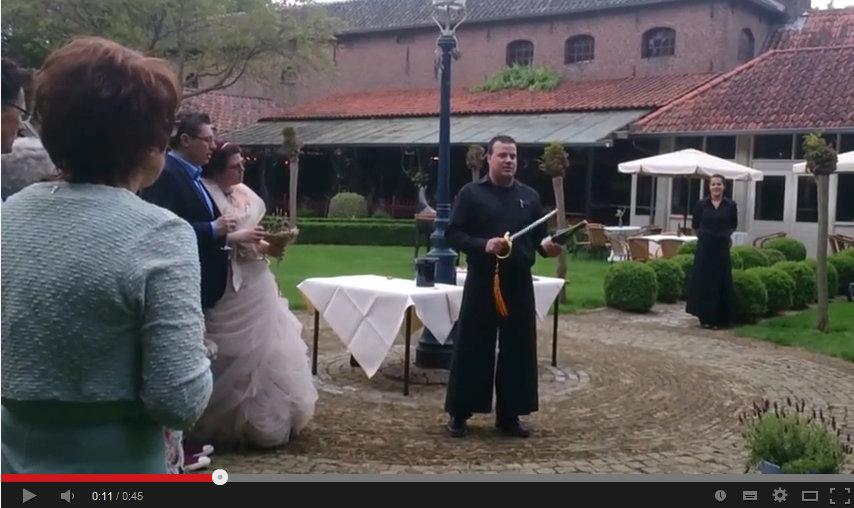Фото: Случай на свадьбе.