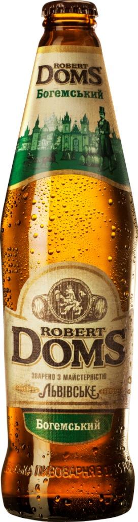 Фото: Золотая медаль досталась пиву «Robert Doms Богемський».
