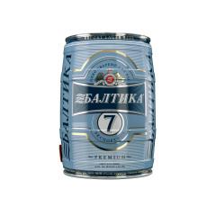 Фото: «Балтика №7» теперь и в 5 литровой бочке.