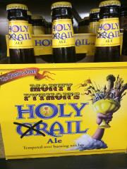 Фото: «Holy Grail» — пиво от «Monty Python's».
