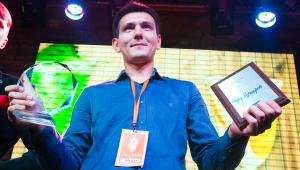 Фото: Надир Кучкаров из Киева — лучший миксолог года по версии «Cointreau Mix Masters 2014».