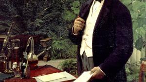 Фото: Портрет пивовара Я. К. Якобсена (JC Jacobsen).