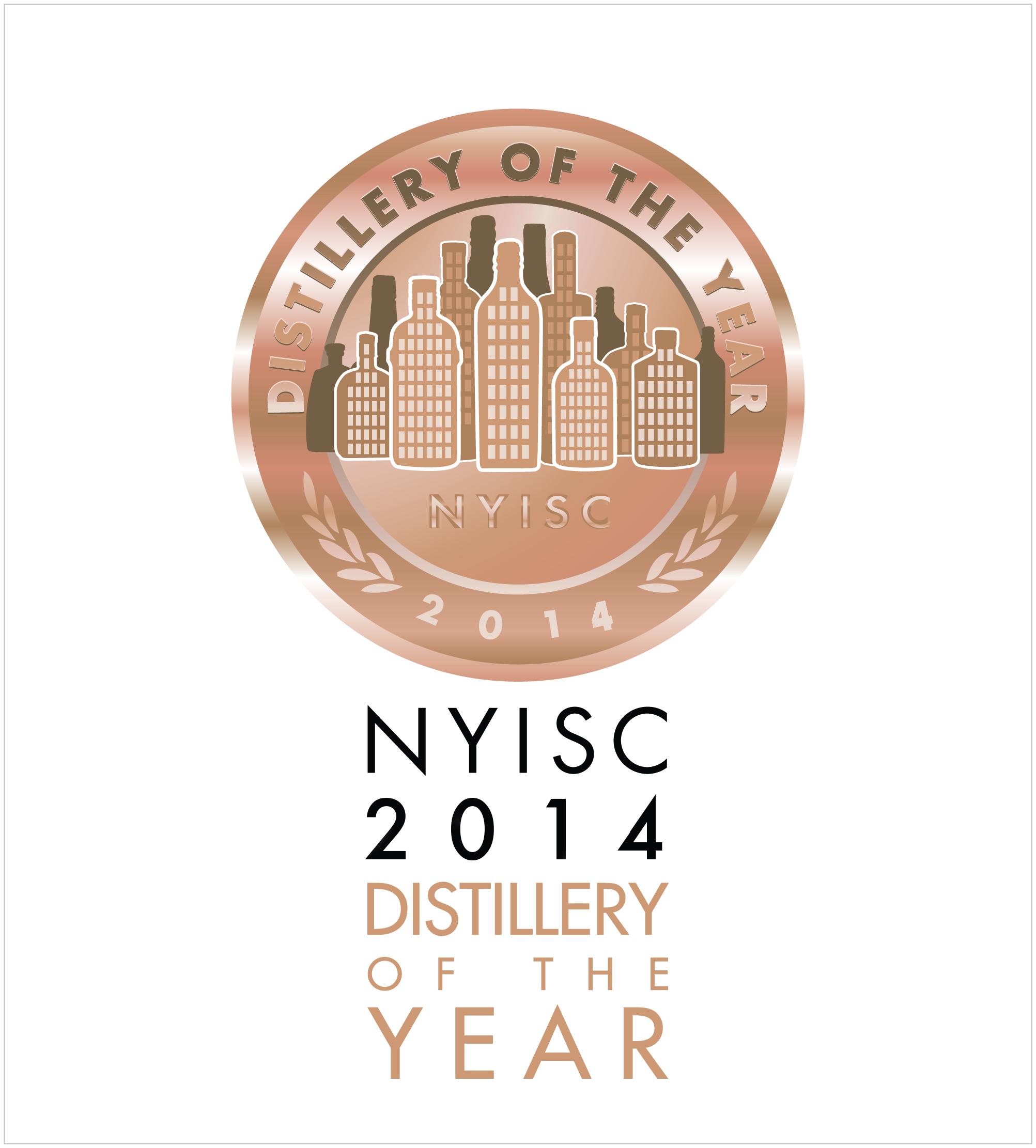 Фото: Награда конкурса «New York International Spirits Competition 2014».